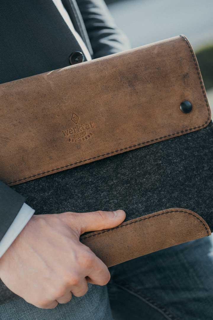 Werktat-Laptoptaschen-detail
