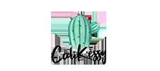 Das Logo von Cali Kessy mit Kaktus